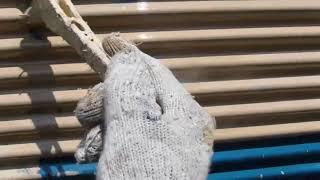 戸袋修理東久留米市 コスモスペイントの塗り替え工事