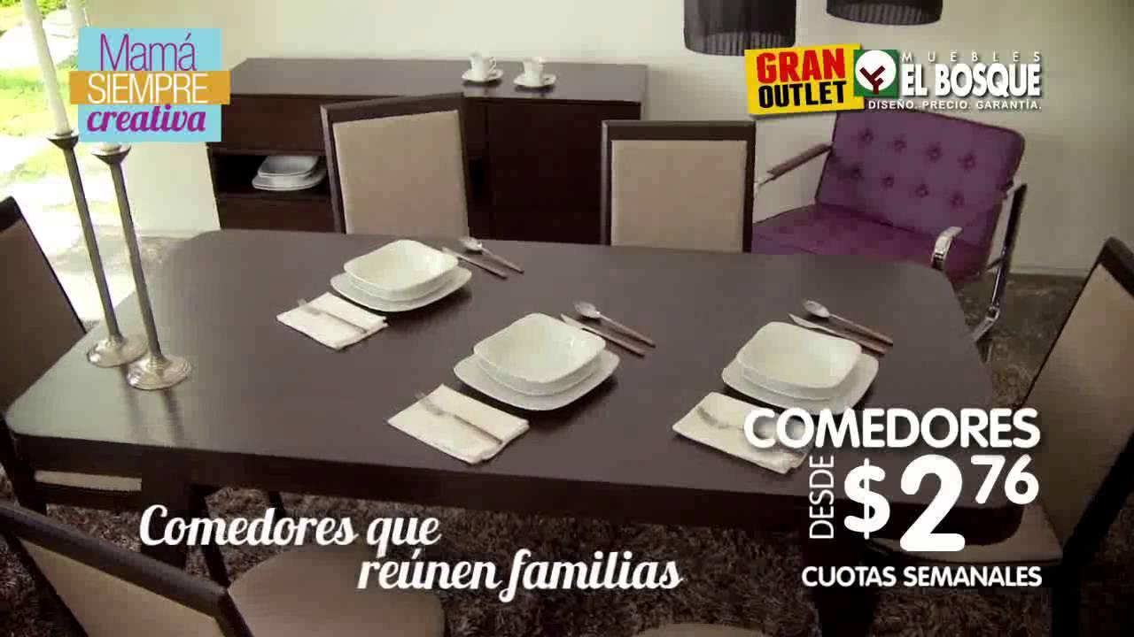 MAMA SIEMPRE CREATIVA OUTLET MUEBLES EL BOSQUE - YouTube