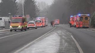 Fünf Verletzte bei Bio-Ethanol-Explosion in Dortmund