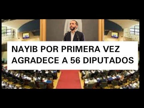 DIPUTADOS APRUEBAN DECRETO DE NAYIB BUKELE PERO 28 ESTUVIERON EN CONTRA
