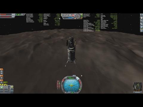 KSP (Kerbal Space Program) - Moho Mission 1 Kerbal With Science