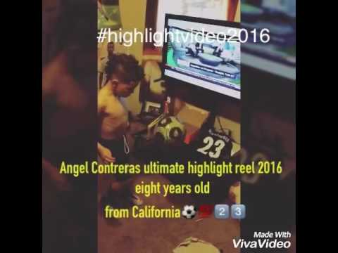 Best 8 year old soccer player AC23 2016 highlights