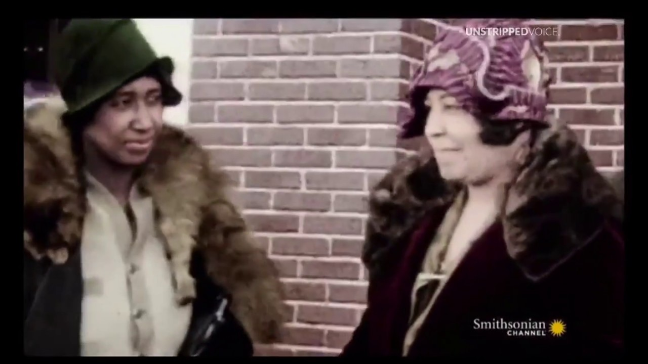 Rare Color Footage Black Wall Street Filmed By Solomon Sir -7747