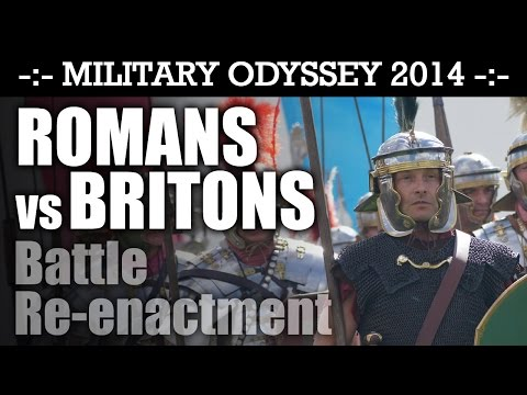 Ancient Britons Vs Romans! Military Odyssey 2014