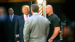 A special look at 2013 WWE Hall of Fame Inductee Donald Trump: Raw, Feb. 25, 2013