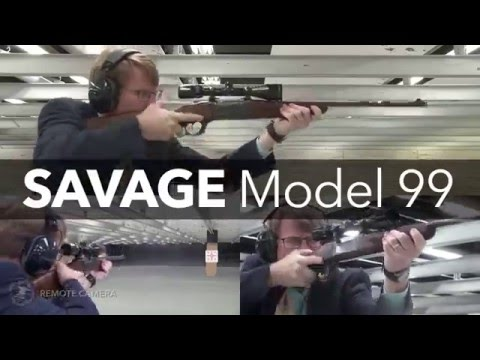 NRA Gun of the Week: Savage Model 99 Rifle - YouTube