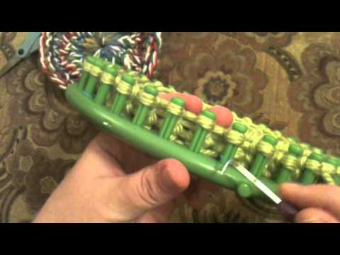 Loom Knitting 101 Lesson 16 Granny Square Round Youtube