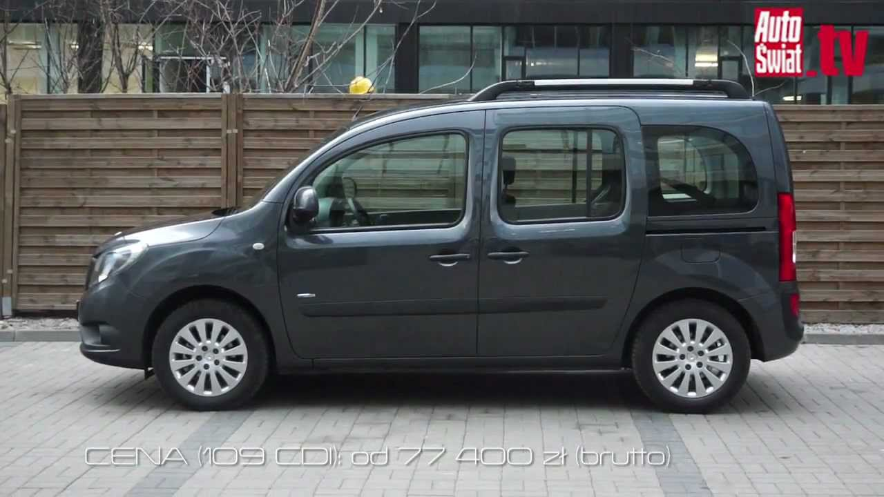 mercedes citan 109 cdi test youtube. Black Bedroom Furniture Sets. Home Design Ideas