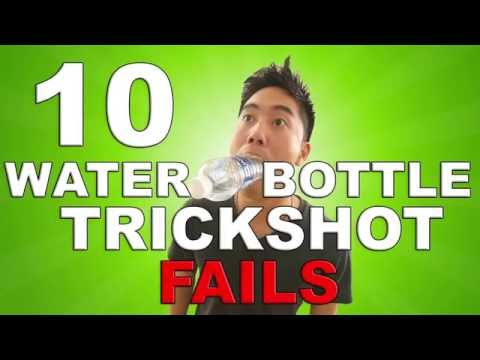 Water Bottle Trickshot FAILS (BTS)