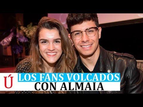 Los fans se vuelcan con Amaia y Alfred el día de Sant Jordi tras Operación Triunfo - Eurovision 2018