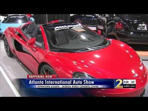 Thousands Flock To The Atlanta International Auto Show YouTube - Car show world congress center atlanta