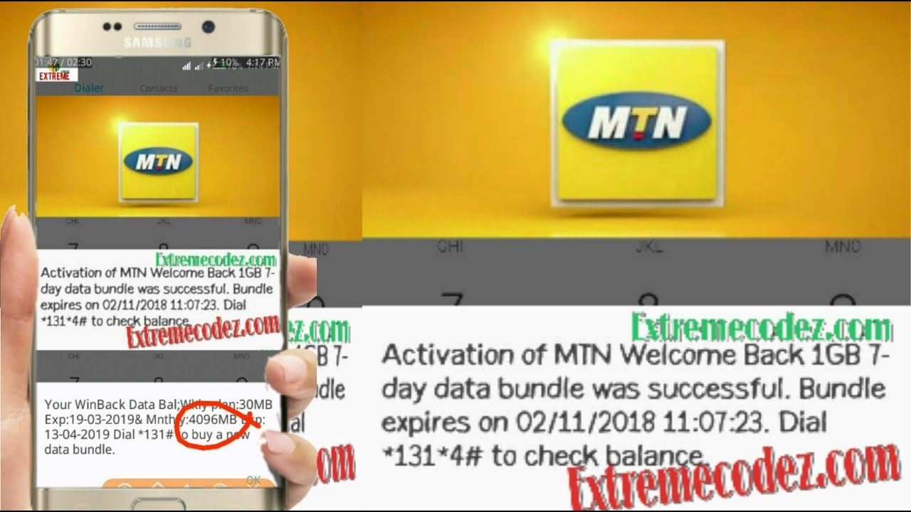 How To Activate MTN 4GB Data Bundle Valid For 30Days | Free