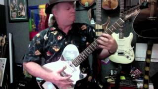 Born To Run - Solo instrumental electric guitar - guitarist Karl Grossman