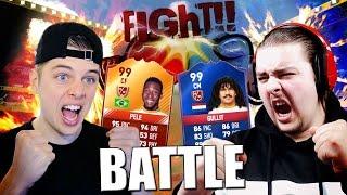 FUT DRAFT BATTLE VS FIFAZLATANNL!! #4 FIFA 17 NEDERLANDS