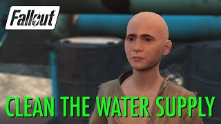 Fallout 4 - Clean the Water Supply