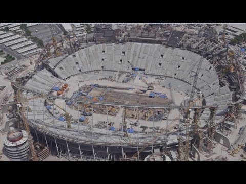 Khalifa International Stadium Progress - May 2016