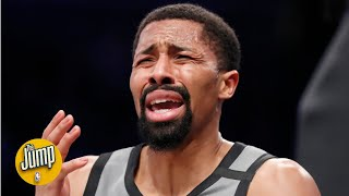 Uhhh ... what was this Spencer Dinwiddie shot?   The Jump