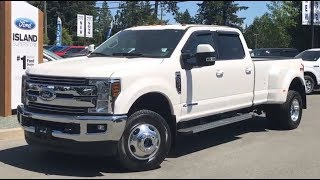 2018 Ford Super Duty F-350 Lariat FX4 Ultimate Camper V8 Diesel SuperCrew Review| Island Ford
