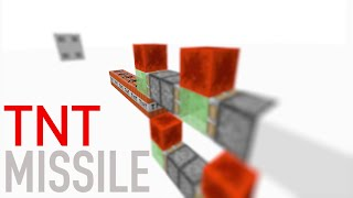 TNT MISSILE! (Minecraft Tutorial)