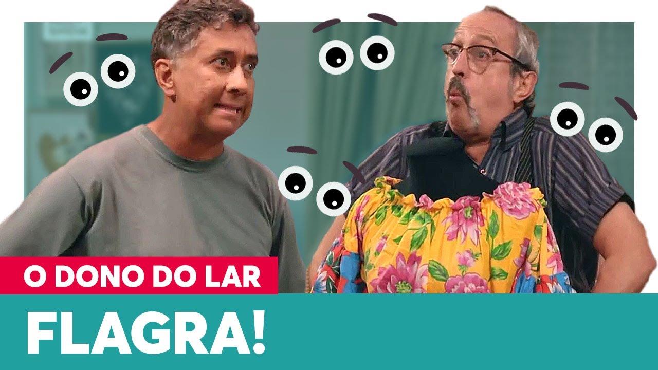 Doralice pega Américo e Seu Astolfo no FLAGRA!   O Dono do Lar 24/06/2021 EP 14 parte 2