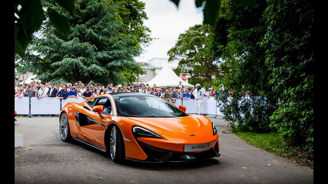 McLaren at the 2015 Goodwood Festival of Speed