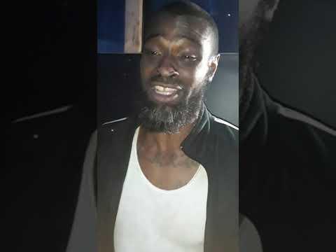 Homeless Flint Man Spit Bars