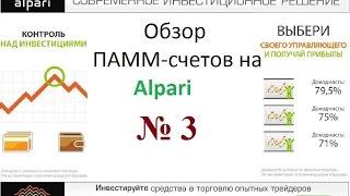 видео Доходность ПАММ