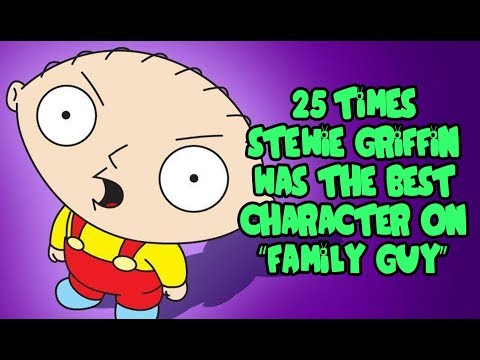 25 Times Stewie Griffin Was The Best Character On