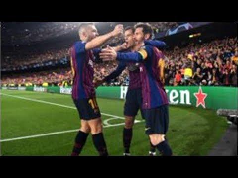 Barcelona ke Semifinal Liga Champions Usai Bungkam Man United