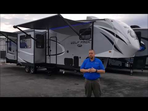 new-cherokee-wolf-pack-325pack13-at-big-daddy-rvs-with-lifetime-warranty---walk-through