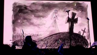 Entire set of Corpse Bride section at Nokia Theatre L.A. Live featuring the Music of Danny Elfman