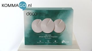 TP-Link Deco M5 WiFi Mesh Systeem Productbespreking