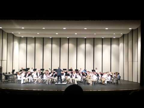 All Aboard! 6th Grad Band Concert 2-9-2015