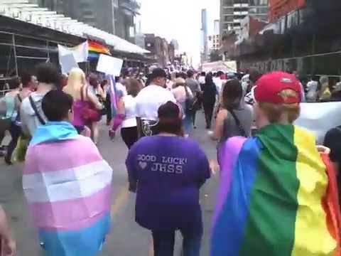 Toronto Trans Pride March Jun 23 2017