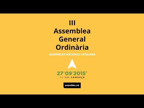 ASSEMBLEA GENERAL DE l'ANC