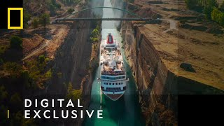 The World's Deepest Canal | Europe From Above S2 | National Geographic UK
