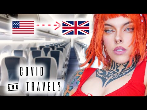 I Took A Flight From NYC To LONDON (what International Flying Is Like During Covid)