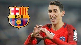 Angel di maria ● welcome to fc barcelona ● amazing skills & goals & assists ● 2017/2018 hd