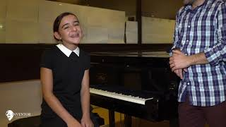 l'interview de Ines the voice kids 2018