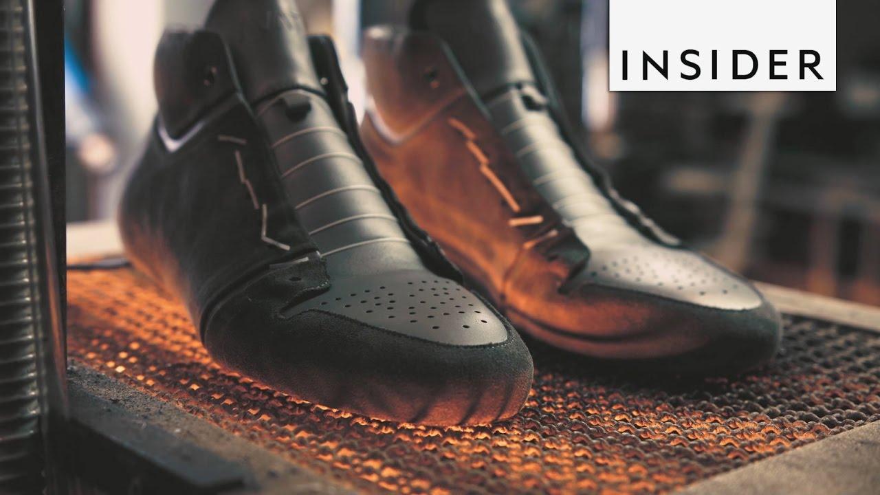 db94bd55591dbc Handmade Minimalist Sneakers - YouTube