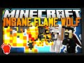 Minecraft | A WOLF FLAME-THROWER! WHAT? | Double Mod Showcase!