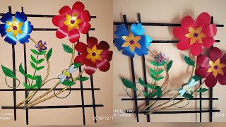 DIY - Flower Wall Hanging / Wall Decor / S V craft zone