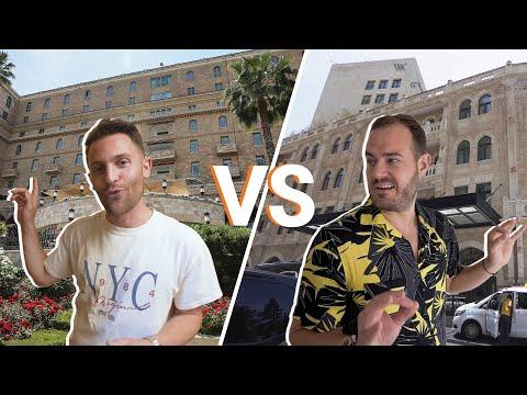 Jerusalem Hotel Faceoff: King David VS. Waldorf Astoria