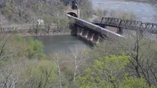 CSX Train at Maryland Heights Tunnel (Harpers Ferry, WVA)
