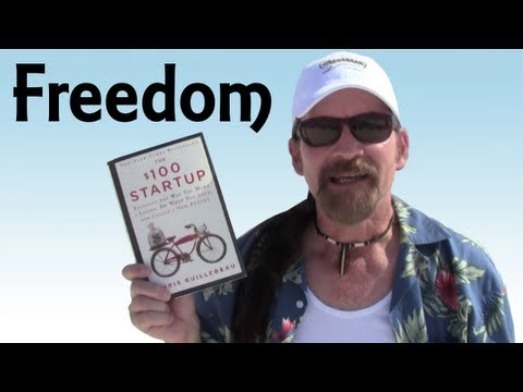 Book Review: The $100 Dollar Startup By Chris Guillebeau - Pirate Lifestyle TV ™ Quickie 120