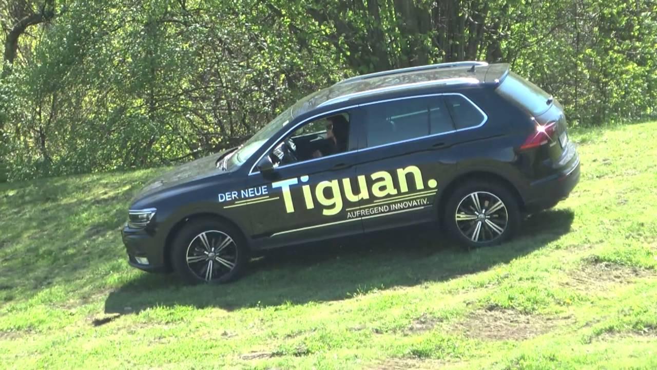 vw tiguan der neue tiguan von volkswagen startet auch in. Black Bedroom Furniture Sets. Home Design Ideas