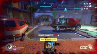 Some bad OverWatch play (PS4 Live)