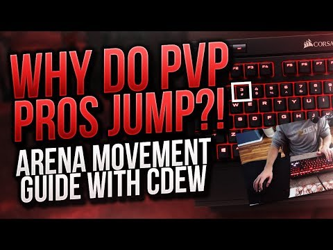 Why Do WoW PVP Pros Jump A Lot? Arena Movement Tips & Guide - Cdew's Dew's and Dew-nots!