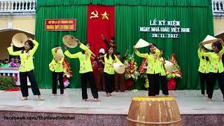 Múa tập thể Chào Sông Mã Anh Hùng |Trường THPT Lưu Đình Chất