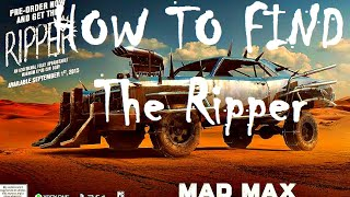 How to Find The Ripper Car Body Part in Mad Max Along with the Hood Ornaments